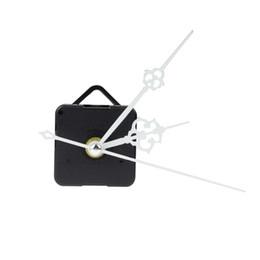 mãos do movimento do relógio de quartzo Desconto Movimento de substituição de relógio de quartzo branco + tempo mãos para relógio de reparação diy com projeção