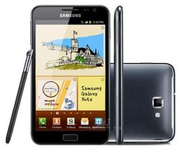 téléphone intelligent déverrouillé Promotion Remis à neuf Téléphone original débloqué Samsung Galaxy Note N7000 I9220 Dual Core 1 Go de RAM 16 Go de ROM 8MP 5.3 pouces