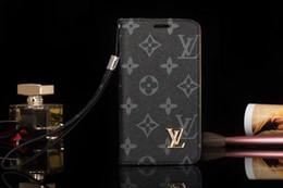 Novos telefones samsung para on-line-Nova marca de couro phone case para iphone x 8 7 6 plus xs xr xs max voltar carteira flip capa para samsung s8 s9 s10 além de nota 9 a05