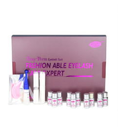 lifting makeup Promo Codes - lashes Lfit Curling Up Eye Lashes Permanent Lotion Full Solution Set Cilia Beauty Makeup lash lift