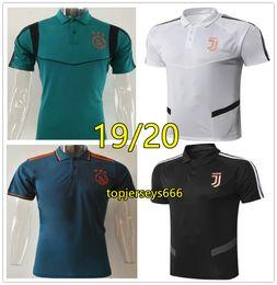polos de hombre Rebajas Polo de fútbol juventus 2019 Ajax polo shirt 19 20 RONALDO DYBALA Juventus polo de futbol