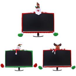 Saco do computador dos desenhos animados on-line-Decoração criativa Atmosfera do Natal Decoração tridimensional cartoon computador não-tecidos Caso Tecidos Bag