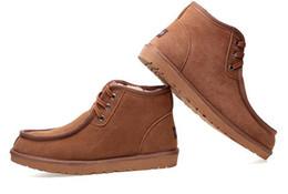 sapatos de couro beckham Desconto Hot vender TOP AUS Design Clássico curto Beckham Homem Mulheres bota de neve Marca Menina popular Botas De Couro Genuíno Botas de Neve de Moda sapatos
