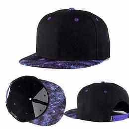2019 espacio gorras Moda Hombres Mujeres Galaxy Space Black Snapback Hiphop Hat  Gorra de béisbol ajustable 8798cd3b4c5