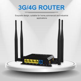 alternar aux Desconto Router 4G LTE wi-fi cartão SIM móvel com antena externa ao ar livre 300mbps vpn ponto de acesso hotspot 4G QCA9531 watchdog wireless