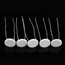 Reconstruindo bobina atomizadora on-line-0.5ohm 0.8mm Espessura De Aquecimento De Cerâmica Bobina para Puffco Peak Atomizador Reparação Reconstruir Substituição Cera Vaporizador Coilless Tecnologia