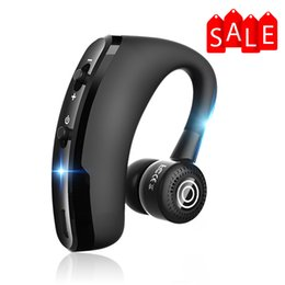 Deutschland Drahtloses Headset Sprachsteuerung Musik Sport Bluetooth Freisprecheinrichtung Kopfhörer Bluetooth Business-Kopfhörer Noise Cancelling Headse Niedrigster Preis Versorgung