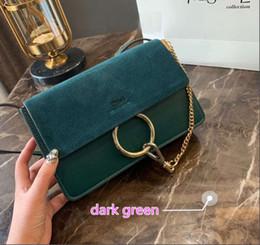 mittelbraune haarfarbenbilder Rabatt echtes Leder Chloe Tasche Designer Damen Handtaschen Designer Umhängetaschen 2019 Luxus Handtaschen coe 18-1