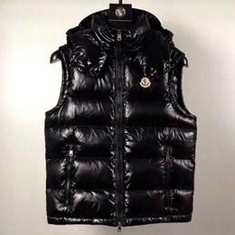 Novos homens anorak francês inverno colete gillets uk popular gilets jaqueta corpo quente plus size homem para baixo parkas anorak com capuz para baixo colete de