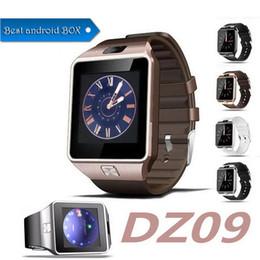 Dz09 smart watch bileklik saatler android smartwatch adımlı anti-kayıp kamera ile sim akıllı cep telefonu kamera smart watch perakende kutusu nereden akıllı saat perakende kutusu tedarikçiler