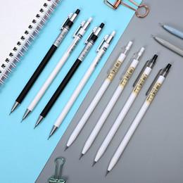 Lapiseira de arte on-line-JIANWU 4 pçs / set Bonito dos desenhos animados Bem penholder lapiseira Art Pintura Propelindo lápis kawaii material Escolar