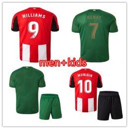 Camisetas de futbol de bilbao online-Nuevas camisetas de fútbol 2019 2020 Athletic Bilbao Club Home 19 20 Aduriz Williams Sola Muniain camisetas de fútbol hombre niños kit uniforme de fútbol