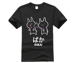 Japanische kaninchen online-Lustiges Anime-Baka-Kaninchen-Schlag-Hemd Baka-Japaner-T-Stück