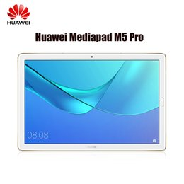 tablette chinoise 64gb Promotion HUAWEI MediaPad M5 Pro CMR-AL19B 10.8 '' 4G Android 8.0 Tablet PC HiSilicon Kirin 960 Octa Core 4GB + 64GB 2,4G / 5G Wifi 13MP Tablette