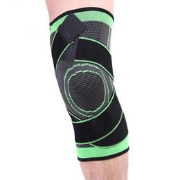 Calofe Basketball Tennis Wandern Radfahren Knie Unterstützung 3D Weben Druck Sport Kniepolster Sicherheit Schutzgurt Für Laufen von Fabrikanten
