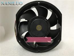 dc fan wire Desconto A35516-59PW1 Ventilador Quadrado de Servidor de 3 fios de 48V 1.55A 172x150x51mm