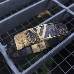 Canada Marque VL Bracelets Bijoux Pour Femmes Hommes 3color En Acier Inoxydable Designer Bracelets Bracelets Accessoires Cadeaux XMAS Fête Des Mères cheap mothers days gifts Offre