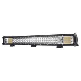 Luces led para remolques online-26 PULGADAS LLEVÓ la barra ligera del trabajo campo a través la lámpara de conducción 12V 24V Camión SUV ATV 4x4 AWD Remolque de carro Remolque de carro Luz auxiliar