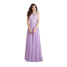 Mor Onur Hizmetçi Elbiseler Halter Backless Robe Elbise Kadınlar Konuk Parti Elbise Düğün için Leylak Gelinlik Modelleri Zarif nereden