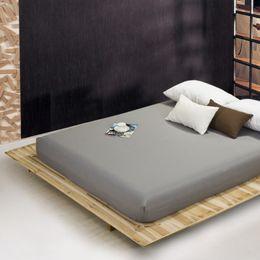 Zwillingsblätter weiß online-einfarbige Bettlaken Spannbetttuch elastischer Matratzenbezug Bettwäsche Tagesdecke Polyester Baumwolle Single Twin Full Queen