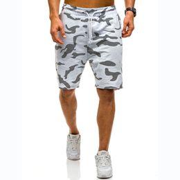 Ropa de camuflaje blanco online-Verano Hombres Ropa Pantalones cortos Algodón Hip Hop Moda Streetwear Camuflaje Casual Loose Black White Designer Shorts