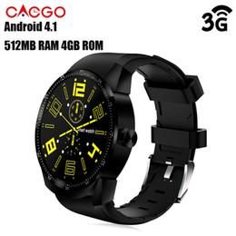 CACGO смарт-часы с 3G часы SmartWatch 1,3-дюймовый Андроид 4.1 MTK6572A 1.2 ГГц двухъядерный 4 Гб ROM IP54 водонепроницаемый GPS с Bluetooth 3.0 часы-телефон K98H БА supplier smart watch 4gb от Поставщики смарт-часы 4gb