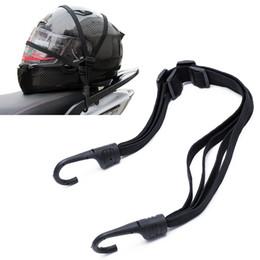 Gancho do capacete on-line-2 ganchos motocicletas moto força retrátil bagagem bagagem elástico corda cinta