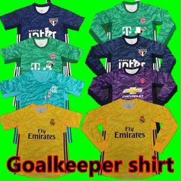 Camiseta de portero de la temporada 2019/2020 portero A.BECKER DE GEA NAVAS NEUER SZCZESNY19 / 20 camiseta de portero de la liga de fútbol desde fabricantes