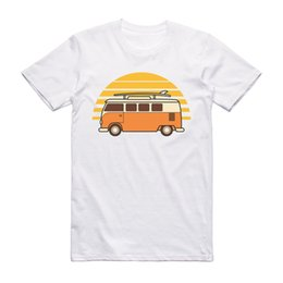 Camper Van Living The Dream Surf T-shirt Vest Tank Top Men Women Unisex 2054