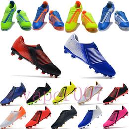 Argentina con box top 2019 zapatos de fútbol de lujo cr7 para hombre FG football copa mundial Phantom Venom zapatos para jóvenes hombres zapatillas deportivas chaussures Suministro