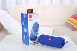 bluetooth lautsprecher hy Rabatt Neuer beweglicher drahtloser bluetooth Sprecher des leichten Schlages 4 Wasserdichter bluetooth Audiosprecher Flip4 stützt mehrfache