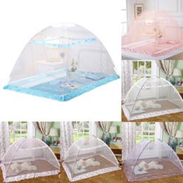 biancheria da letto di tende Sconti Principessa Baby Zanzariera Letto Kids Canopy Bedcover Tenda a baldacchino