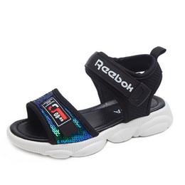 2019 nuovi sandali dei ragazzi e delle ragazze di tendenza di modo nuove bilance dei bambini di estate, piccole suole dell'orso, scarpe casuali dei bambini, sandali della spiaggia da