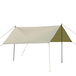 Barraca verde on-line-Barraca de proteção ao ar livre à prova d 'água ao ar livre barraca de guarda-sol de praia ao ar livre quatro canto dossel tenda 3 * 3 m abrigos verdes LJJZ673