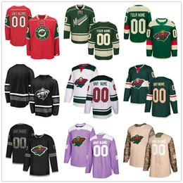 2019 хоккейный париж Custom Minnesota Wild # 26 Pontus Aberg 6 Ryan Donato 20 Ryan Suter 49 Victor Rask 11 Зак Париз Мужчины Женщины Дети Молодежные хоккейные майки скидка хоккейный париж