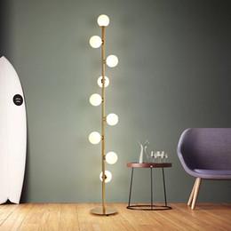 lámpara led de pie libre Rebajas Hogar moderno deco accesorios de iluminación LED de luces nórdicos salón luminarias de pie cabecera del dormitorio de iluminación de lámparas de pie el envío libre