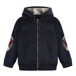 Baby Jacke Kleidung Neue Herbst-Winter-Oberbekleidung-Mantel Thick Kinderkleidung und weisePlaids Kinderkleidung mit Kapuze von Fabrikanten