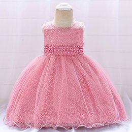 e97d501ce46e 2019 summer infant Baby Girl Dress Lace white Baptism Dresses for Girls 0-2 years  old birthday party wedding baby clothing discount dress for year old ...