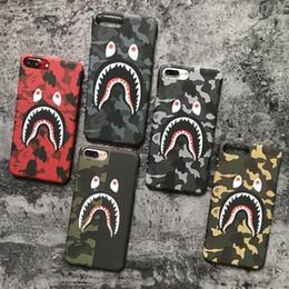 stand smart cover per iphone Sconti NUOVO Hot Top Quality Cool Fashion Shark Case Per iPhone8 8 plus 7 6 6 s Più Shark Army Copertura Della Cassa Del Telefono Per iPhoneX 6 S 5 5 S SE Matte K2648