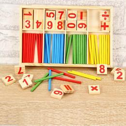 Giocattoli educativi in anticipo della scuola materna del bastone di intelligenza matematica di Montessori da generatori di potenza all'ingrosso fornitori