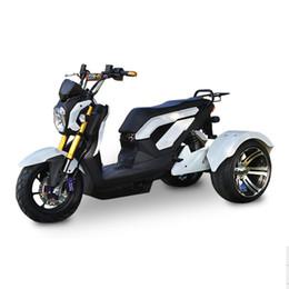 Batterie per biciclette elettriche online-Scooter elettrico 800W Triciclo elettrico Citycoco 72V / 20A LED della batteria al piombo di tre ruote di bicicletta Moto