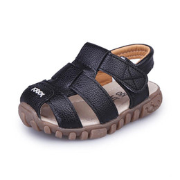0852645f94c5 Baby Boys Summer Sandals Toddler Kids Beach Sandals Children Closed Toe  Outdoor Shoes Children Sport Shoes Sneakers Size 21-30