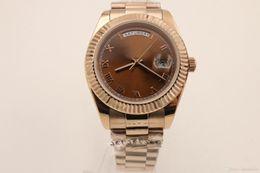 relógio fino de safira Desconto Fino relógio gelado relógios super clone assistir Mans mechinal relógio 41mm tamanho vidro Safira Alta qualidade