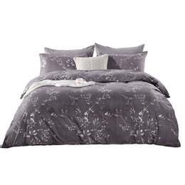 Hm Life 100% полиэстер комплект постельных принадлежностей без простыней имитировать Египет хлопок с резинкой пододеяльник набор Королева размер от Поставщики розовое оборванное покрывало