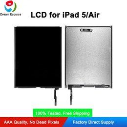 samsung tab branco Desconto Genuine Original Novo LCD substituição para o transporte iPad 5 Ar Livre DHL