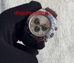Relógios mens baratos on-line-O mais baixo preço de venda quentes de alta qualidade BP 7750 Cronógrafo 40 milímetros Cosmograph 116519 Luxo 316L Aço Relógio Automático Mens