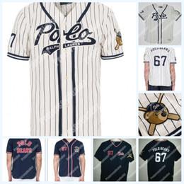 womens polo Sconti 67 Polo Bears New Polo Polo Teddy Bear Baseball Jersey doppio nome cucito e numero Baseball Jersey per la gioventù delle donne degli uomini Spedizione gratuita