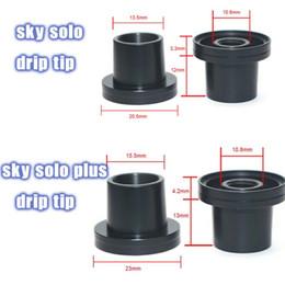 aspire atlantis tank sub ohm Desconto Vaporesso Sky Solo Sky solo plus kit ponta de gotejamento Preto POM Drip Tip Para tanque atomizador céu solo