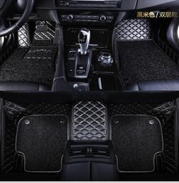 Tappetini auto su misura per Mitsubishi Lancer Galant ASX Pajero sport V73 V93 rivestimento per pavimento in stile car styling 3D da