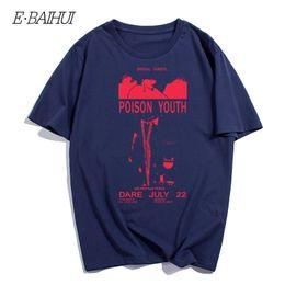 2a37d9bb classic rock t shirts 2019 - E-BAIHUI Brand Classic Rock Band Summer Style  Cotton